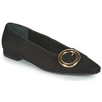 Pantofi Femei Balerin și Balerini cu curea JB Martin SAVOIR Negru