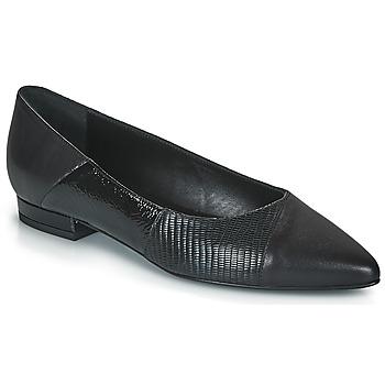 Pantofi Femei Balerin și Balerini cu curea JB Martin TENDRE Negru
