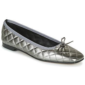 Pantofi Femei Balerin și Balerini cu curea JB Martin PASSION Gri