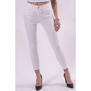 Îmbracaminte Femei Pantaloni  Fracomina FR21SP2002W40101 alb