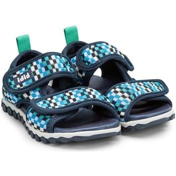 Pantofi Băieți Sandale  Bibi Shoes Sandale Baieti BIBI Summer Roller Sport Caro Bleumarin