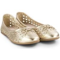 Pantofi Fete Balerin și Balerini cu curea Bibi Shoes Balerini Fete BIBI Renascence Kids Gold Auriu