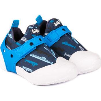Pantofi Băieți Sneakers Bibi Shoes Pantofi Baieti Bibi 2WAY Submarine Albastru