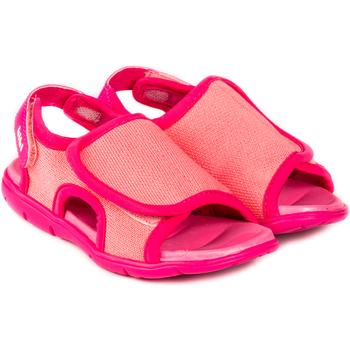 Pantofi Fete Sandale  Bibi Shoes Sandale Fete BIBI Basic Mini Cherry cu Velcro Roz