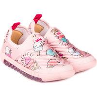 Pantofi Fete Pantofi Slip on Bibi Shoes Pantofi Sport Fete Bibi Roller New Camelia/Ice Cream Roz