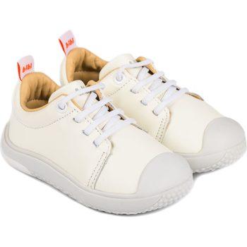 Pantofi Băieți Pantofi sport Casual Bibi Shoes Pantofi Unisex Bibi Prewalker Albi cu Siret Elastic Alb