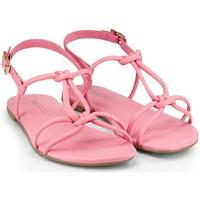 Pantofi Fete Sandale  Bibi Shoes Sandale Fete BIBI Little Me Cherry Roz