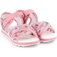 Pantofi Fete Sandale  Bibi Shoes Sandale Fete BIBI Flat Form Ice Cream Roz
