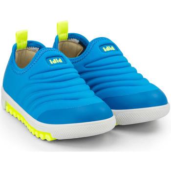 Pantofi Băieți Sneakers Bibi Shoes Pantofi Sport Baieti Bibi Roller New Aqua/Yellow Albastru
