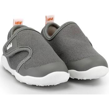 Pantofi Băieți Pantofi sport Casual Bibi Shoes Pantofi Baieti Bibi FisioFlex 4.0 Grafit cu Velcro Gri