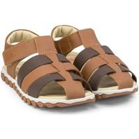 Pantofi Băieți Sandale  Bibi Shoes Sandale Baieti BIBI Summer Roller New II Caramel/Expresso Maro