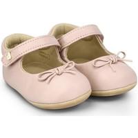 Pantofi Fete Balerin și Balerini cu curea Bibi Shoes Balerini Fetite BIBI Afeto Joy Pink Roz