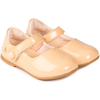 Pantofi Fete Balerin și Balerini cu curea Bibi Shoes Balerini Fete BIBI Anjos Mini Sampanie Crem