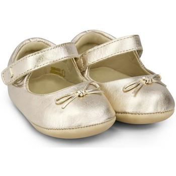 Pantofi Fete Balerin și Balerini cu curea Bibi Shoes Balerini Fetite BIBI Afeto Joy Gold Auriu
