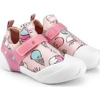 Pantofi Fete Sneakers Bibi Shoes Pantofi Fete Bibi 2WAY Ice Cream Roz