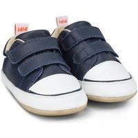 Pantofi Băieți Pantofi sport Casual Bibi Shoes Pantofi Baietei Bibi Afeto Joy Naval/Alb cu Velcro Bleumarin