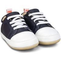 Pantofi Băieți Pantofi sport Casual Bibi Shoes Pantofi Baietei Bibi Afeto Joy Naval/Alb cu Siret Elastic Bleumarin