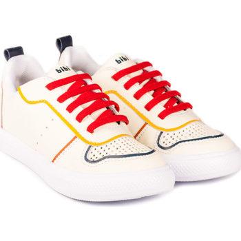 Pantofi Băieți Pantofi sport Casual Bibi Shoes Pantofi Baieti BIBI Agility III Albi/Rosu Alb