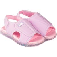 Pantofi Fete Sandale  Bibi Shoes Sandale Fete BIBI Summer Roller Sport Astral cu Velcro Mov