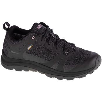 Pantofi Femei Drumetie și trekking Keen W Terradora II WP Noir