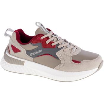 Pantofi Bărbați Pantofi sport Casual Big Star Shoes Beige