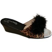 Pantofi Femei Papuci de vară Milly MILLY102CIGNOanim nero