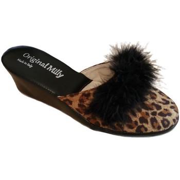 Pantofi Femei Papuci de vară Milly MILLY300CIGNOanimal nero
