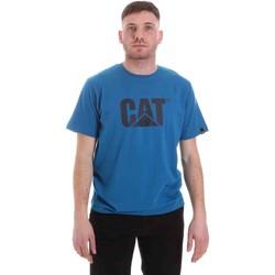 Îmbracaminte Bărbați Tricouri mânecă scurtă Caterpillar 35CC2510150 Albastru