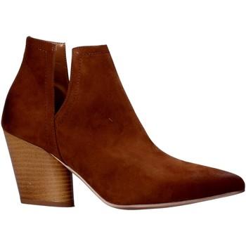 Pantofi Femei Ghete Grace Shoes 7241004 Maro