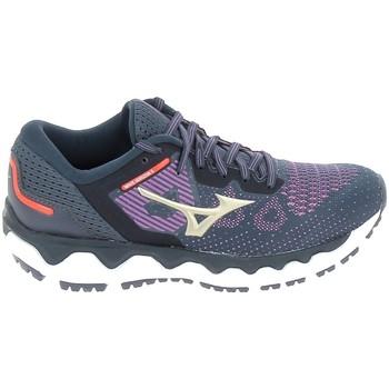 Pantofi Femei Trail și running Mizuno Wave Horizon 5 Bleu albastru