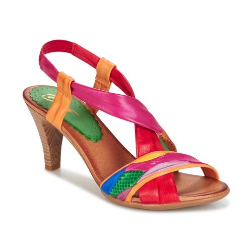 Pantofi Femei Sandale și Sandale cu talpă  joasă Betty London POULOI  multicolor