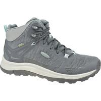 Pantofi Femei Drumetie și trekking Keen W Terradora II Mid WP Grise