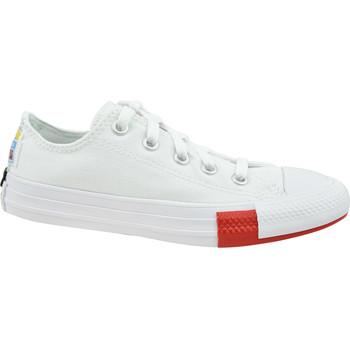 Pantofi Copii Pantofi sport Casual Converse Chuck Taylor All Star Jr Blanc