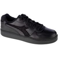 Pantofi Bărbați Pantofi sport Casual Diadora Mi Basket Low Noir