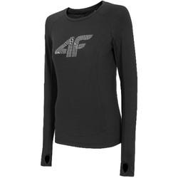 Îmbracaminte Femei Tricouri cu mânecă lungă  4F Women's Functional Longsleeve Noir