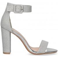 Pantofi Femei Sandale  Etika 53404 Argintiu