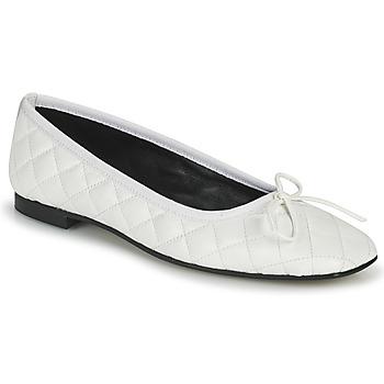 Pantofi Femei Balerin și Balerini cu curea JB Martin PASSION Alb
