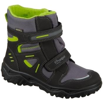 Pantofi Copii Pantofi sport stil gheata Superfit Husky Negre, Gri