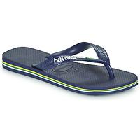 Pantofi Copii  Flip-Flops Havaianas BRASIL LOGO Albastru