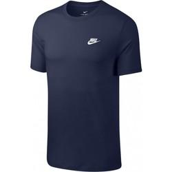 Îmbracaminte Bărbați Tricouri mânecă scurtă Nike Club Tee Albastru