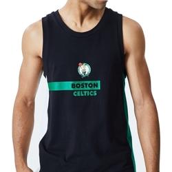 Îmbracaminte Bărbați Maiouri și Tricouri fără mânecă New-Era Nba Boston Negru