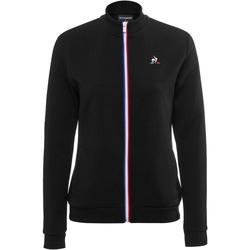 Îmbracaminte Femei Bluze îmbrăcăminte sport  Le Coq Sportif Essential Full Zip Negru