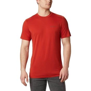 Îmbracaminte Bărbați Tricouri mânecă scurtă Columbia Maxtrail Logo Rosu