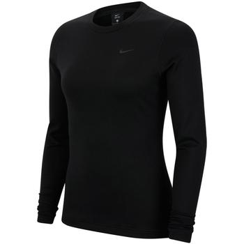 Îmbracaminte Femei Bluze îmbrăcăminte sport  Nike Pro Therma Negru