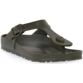 Pantofi Femei  Flip-Flops Birkenstock GIZEH EVA KHAKI CALZ N Verde