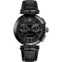 Ceasuri & Bijuterii Bărbați Ceasuri Analogice Versace VE1D01420, Quartz, 45mm, 5ATM Negru