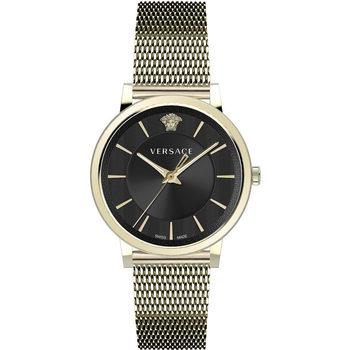 Ceasuri & Bijuterii Bărbați Ceasuri Analogice Versace VE5A00920, Quartz, 42mm, 5ATM Auriu