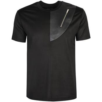 Îmbracaminte Bărbați Tricouri mânecă scurtă Les Hommes  Negru