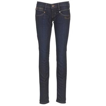 Îmbracaminte Femei Jeans slim Freeman T.Porter ALEXA SLIM SDM Albastru / Culoare închisă