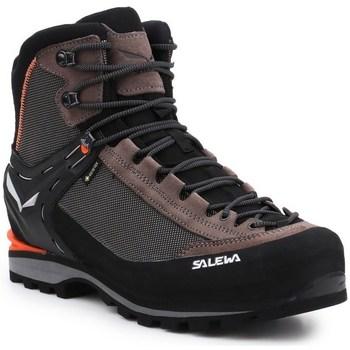 Pantofi Bărbați Drumetie și trekking Salewa MS Crow Gtx Negre, Cafenii, Grafit